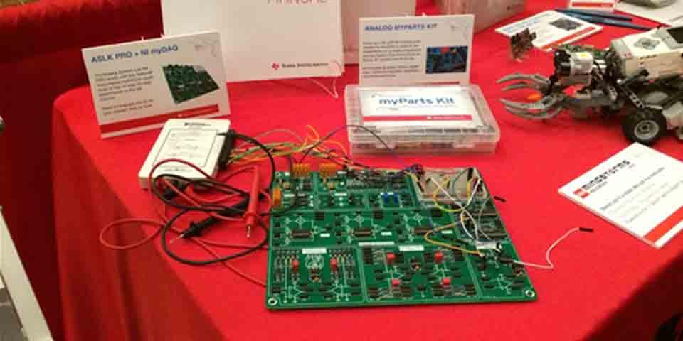TI-based teaching kits for analog and power design
