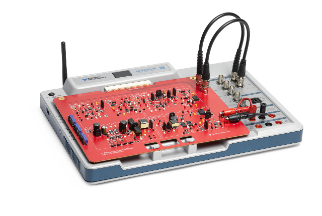 ti based teaching kits for analog and power designti power electronics board teaches power electronics and power conversion systems using ni elvis iii lab platform
